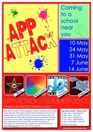 App Attack Poster Summer 2013