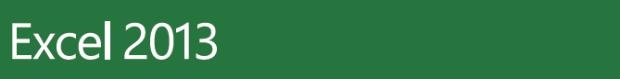 Excel 2013 Banner