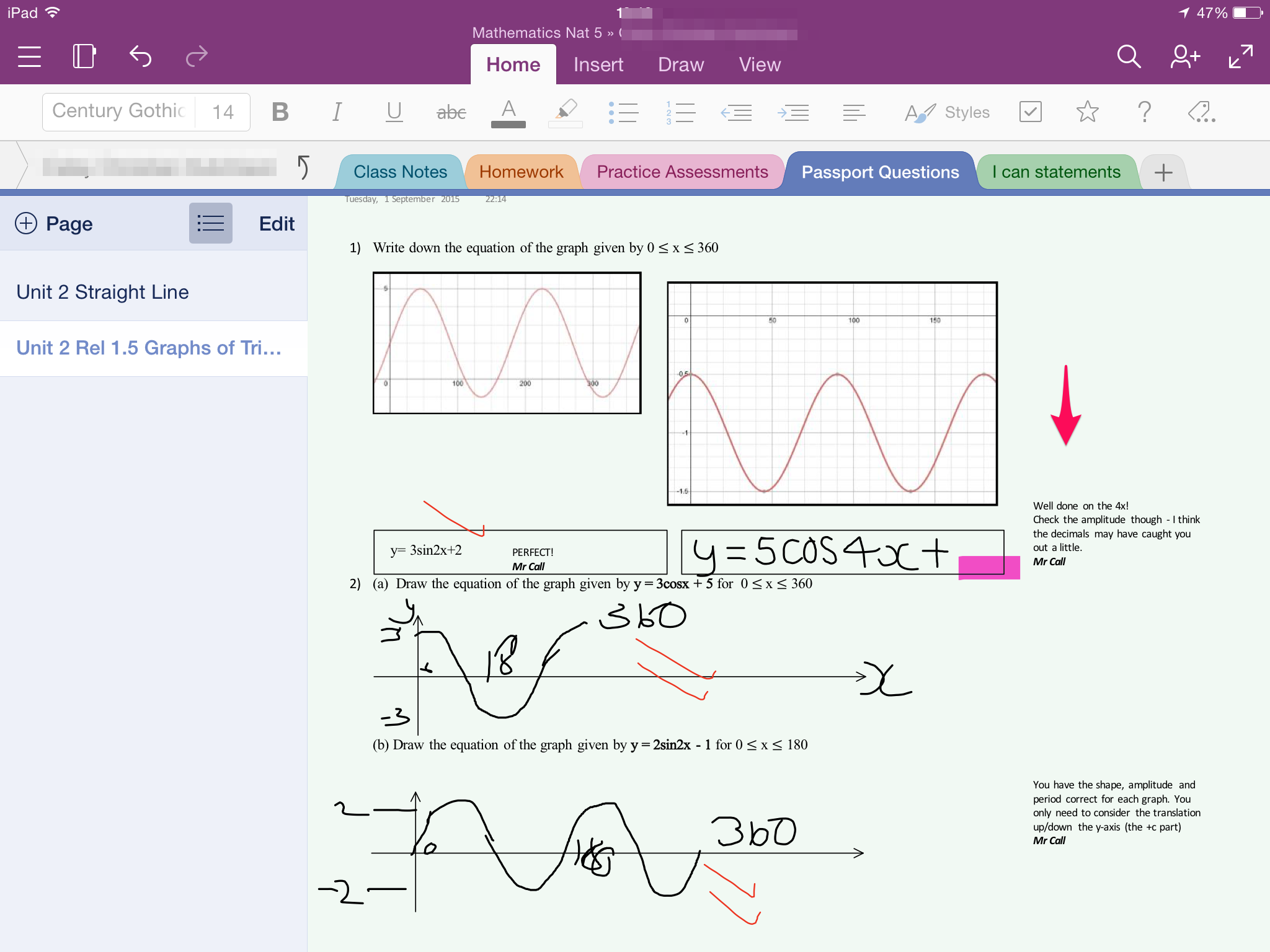 OneNote Class Notebook at Tynecastle High School | Digital ...
