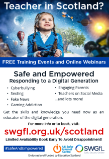 Safe and Empowered poster